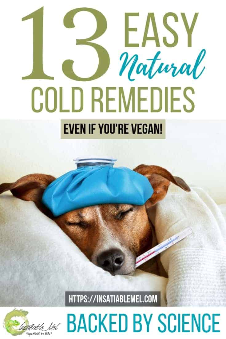 13 EASY natural cold remedies backed by science (vegan friendly